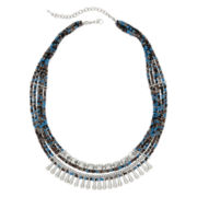 Decree® Seed Bead Statement Necklace