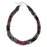 Decree® Multi-Row Beaded Necklace