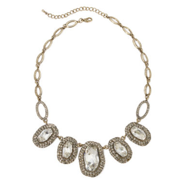 jcpenney.com | Natasha Antique-Style Stone Statement Necklace