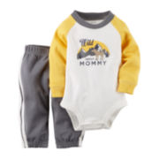 Carter's® Long-Sleeve Bodysuit and Pants Set - Baby Boys newborn-24m