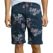 Arizona Tropical Flat-Front Shorts