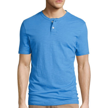 jcpenney.com | Arizona Solid Henley Shirt