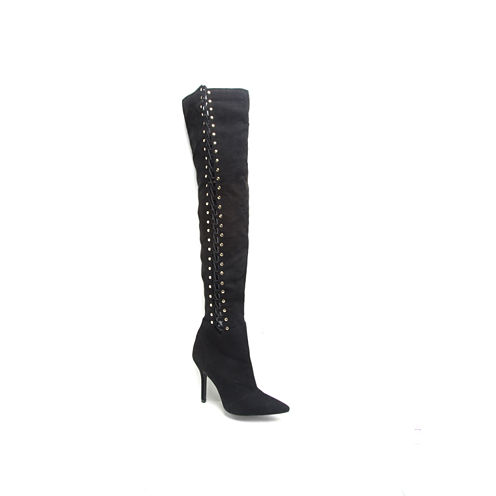 Qupid Mixi-185x Womens Over the Knee Boots