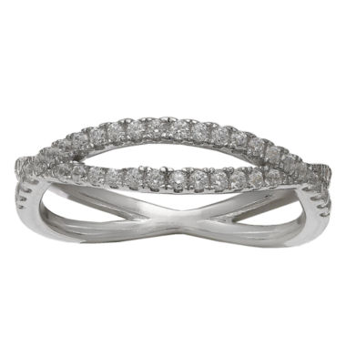 jcpenney.com | Silver Treasures Womens Cubic Zirconia