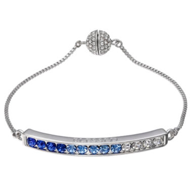 jcpenney.com | Sparkle Allure Womens Silver Over Brass Bolo Bracelet