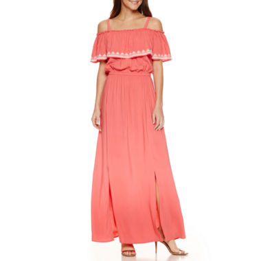 jcpenney.com | By Artisan Sleeveless Embroidered Maxi Dress
