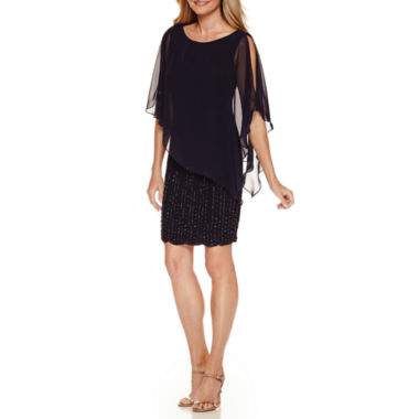 jcpenney.com | DJ Jaz Chiffon Cape Dress