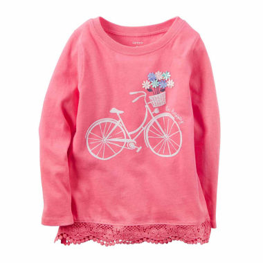 jcpenney.com | Carter's Toddler Girls Bicycle T-Shirt