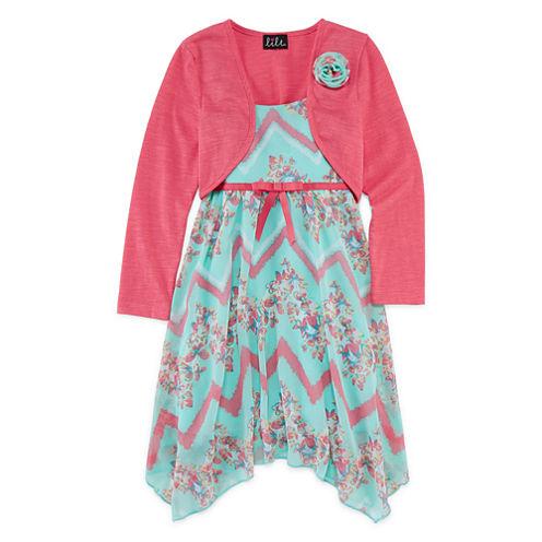 Lilt Jacket Dress Preschool Girls
