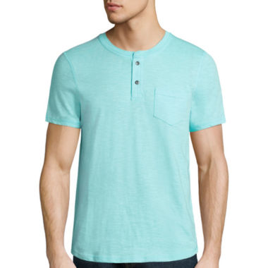 jcpenney.com | i jeans by Buffalo Short Sleeve Henley Shirt