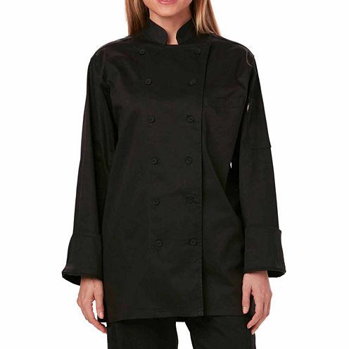 Dickies Womens Executive Chef Coat - Plus