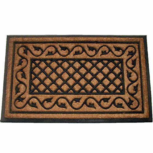Ivy Lattice Doormat