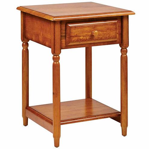 Knob Hill 1-Drawer End Table
