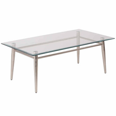 jcpenney.com | Brooklyn Glass Square Coffee Table