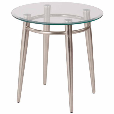 jcpenney.com | Brooklyn  20 Round Glass Coffee Table