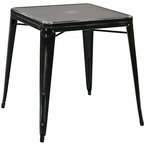 Bristow Antique Metal Dining Table