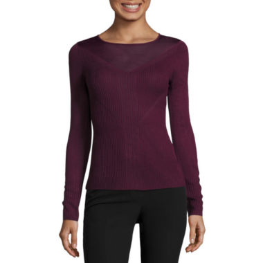 jcpenney.com | Worthington Illusion Sweater