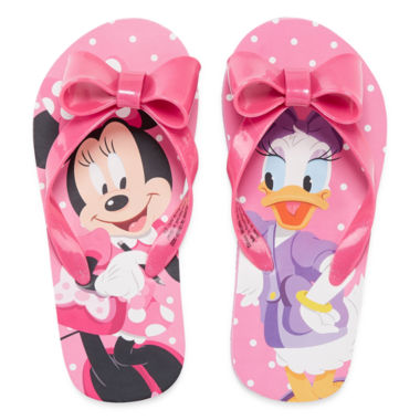 jcpenney.com | Disney Minnie Mouse and Daisy Flip-Flops
