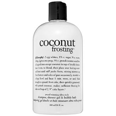 jcpenney.com | philosophy Coconut Frosting Shampoo, Shower Gel & Bubble Bath
