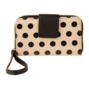 Mundi® Call Me Cell Phone Dots Wristlet