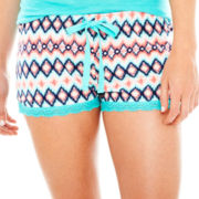 Insomniax® Print Knit Sleep Shorts
