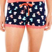 Insomniax® Print Knit Sleep Shorts