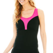Speedo® Comfort-Strap Tankini Swim Top