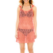 Porto Cruz® Crochet Ring Tank Dress Cover-Up