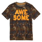 Arizona Short-Sleeve Graphic Knit Tee - Boys 8-20 and Husky