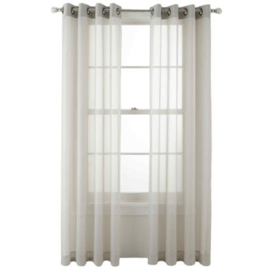 jcpenney.com | MarthaWindow™ Voile Grommet-Top Sheer Panel