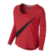 Nike® Long-Sleeve Prep Tee