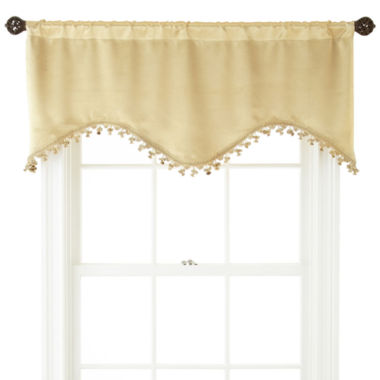 jcpenney.com | Royal Velvet® Jessa Rod-Pocket Scalloped Valance