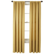 Home Expressions™ Cassidy Room-Darkening Rod-Pocket Crushed Curtain Panel