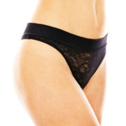 Maidenform Smooth Luxe Comfort Lace Thong Panties - 40161