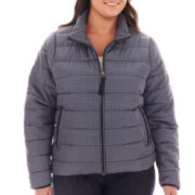 jcp™ Puffer Jacket - Plus