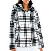 ZeroXposur® Belle Hooded Snowboard Jacket with Headband