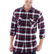Stanley® Heather Herringbone Flannel Shirt