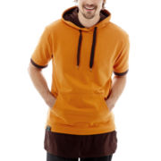 Switch Long Layered Hooded Tee