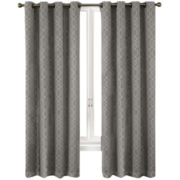 Eclipse® Pearce Grommet-Top Blackout Curtain Panel with Thermaweave™