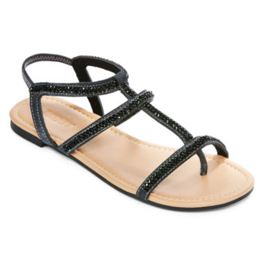 jcpenney.com | Mixit™ Strappy Bling Slide Strap Sandal