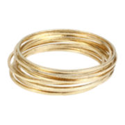 Worthington® Gold-Tone Bangle Bracelet Set