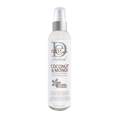 Design Essentials® Coconut and Monoi Coconut Water Curl Refresher - 8 oz.