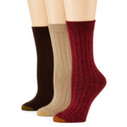 Gold Toe® 3-pk. Weekender Crew Socks