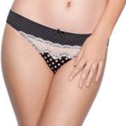 Marie Meili Amber Brazilian Cheeky Panties