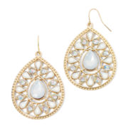 Decree® Crystal Teardrop Earrings