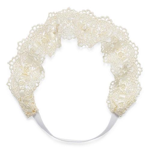 Decree® Ivory Lace Head Wrap