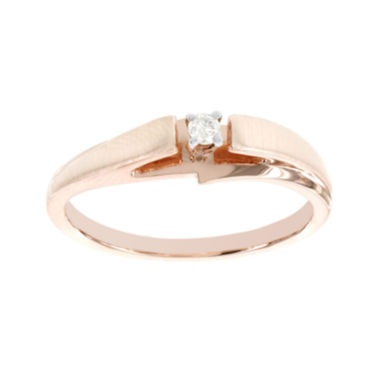 jcpenney.com | Diamond-Accent 10K Rose Gold Promise Ring