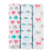 ideal baby by the makers of aden + anais®  3-pk. Swaddle Blankets
