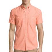 Arizona Short-Sleeve Solid Chambray Shirt