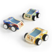 Guidecraft  Plywood Race Cars